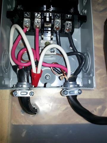 wiring connecting the motor clear vue cyclone forums thanks for your help